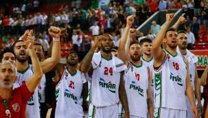 FIBA Şampiyonlar Ligi: Bilbao Basket: 72 - Pınar Karşıyaka: 81