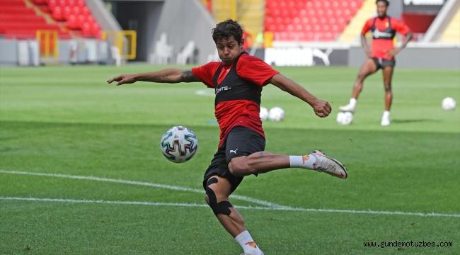 Göztepe, Alanyaspor maçı hazırlıklarına devam etti