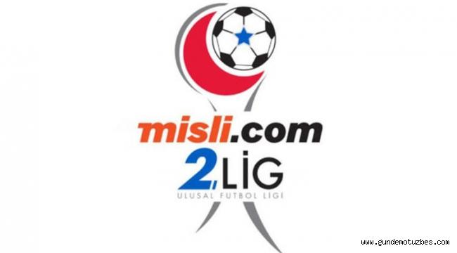 Misli.com 2. Lig: Ligin 7. haftası bir maç dışında tamamlandı