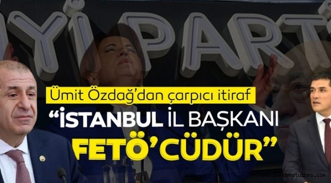 PARTİSİNİN İL BAŞKANINA FETÖ'CÜ DEDİ!