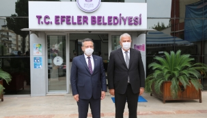 Vali Aksoy'dan, Başkan Atay'a iadeyi ziyaret