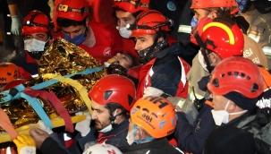 14 yaşındaki İdil, 58 saat sonra enkazdan sağ çıkartıldı