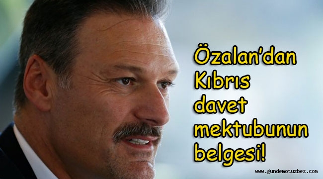 Ak Parti İzmir Milletvekili Alpay Özalan, Twitter hesabından Kılıçdaroğlu'na gönderilen davet mektubunu yayımladı!