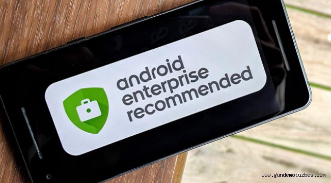"""Galaxy akıllı telefon ve tabletler """"Android Enterprise Recommended"""" programına dahil oluyor"""