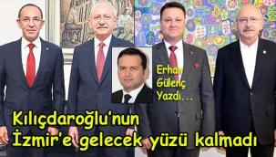 Kılıçdaroğlu'nun İzmir'e gelecek yüzü kalmadı