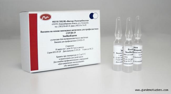 Rusya'nın ikinci koronavirüs aşısının tescil sonrası testlerinde 3000 gönüllü yer alıyor