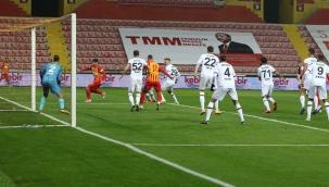 Süper Lig: Hes Kablo Kayserispor: 0 - Fatih Karagümrük: 0