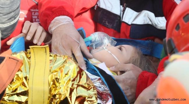 ULUSKON, İzmir depreminin simgesi Ayda bebeğin tüm eğitim masraflarına talip oldu