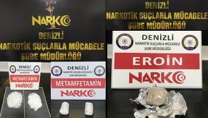 Denizli'deki uyuşturucu operasyonlarında 10 kişi tutuklandı