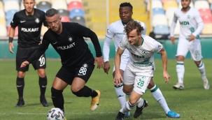 TFF 1. Lig: Altay: 1 - Giresunspor: 1
