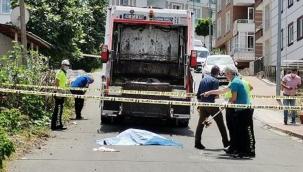 Çöp kamyonunun çarptığı yaya hayatını kaybetti