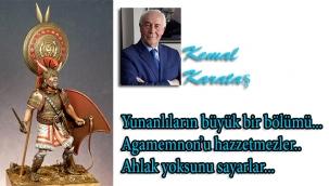 Kemal Karataş'tan CHP Sözcüsü Nilay Kökkılınç'a: Büyük büyük dedelerinize benziyor mu Agamemnon?