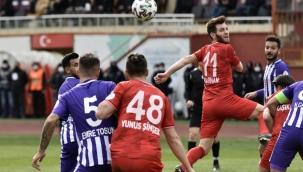 Misli.com 2. Lig: Gümüşhanespor: 1 - Afjet Afyonspor: 3
