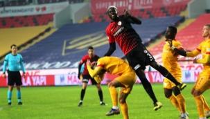 Süper Lig: Gaziantep FK: 2 - Kayserispor: 1