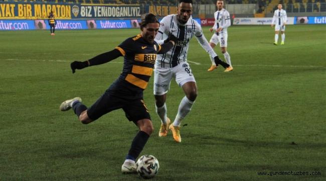 Süper Lig: MKE Ankaragücü: 1 - Kasımpaşa: 0