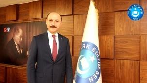 """Türk Eğitim-Sen Genel Başkanı Geylan: """"MEB unvan değişikliği sınavı ile ilgili takvimi yayınlayarak yeni süreci başlatmalıdır"""""""