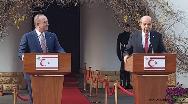 """Bakan Çavuşoğlu: """"Türkiye olarak KKTC'ye her türlü desteği vereceğiz"""""""