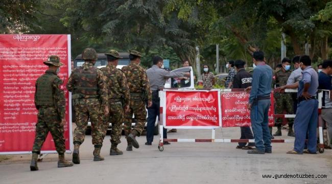 G7 ülkeleri Myanmar'daki askeri darbeyi kınadı