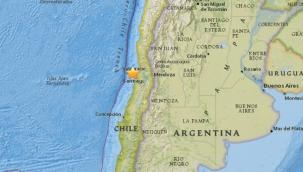 Şili'de 6.9 büyüklüğünde deprem