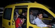 Jandarma'dan operasyon: Mülteci taşıyan taksiciler toplanıyor!